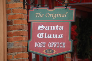Original Santa Claus, IN Post Office