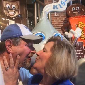 An obligatory Hershey Kiss from Julianne, at Hershey Chocolate World, Hershey, PA