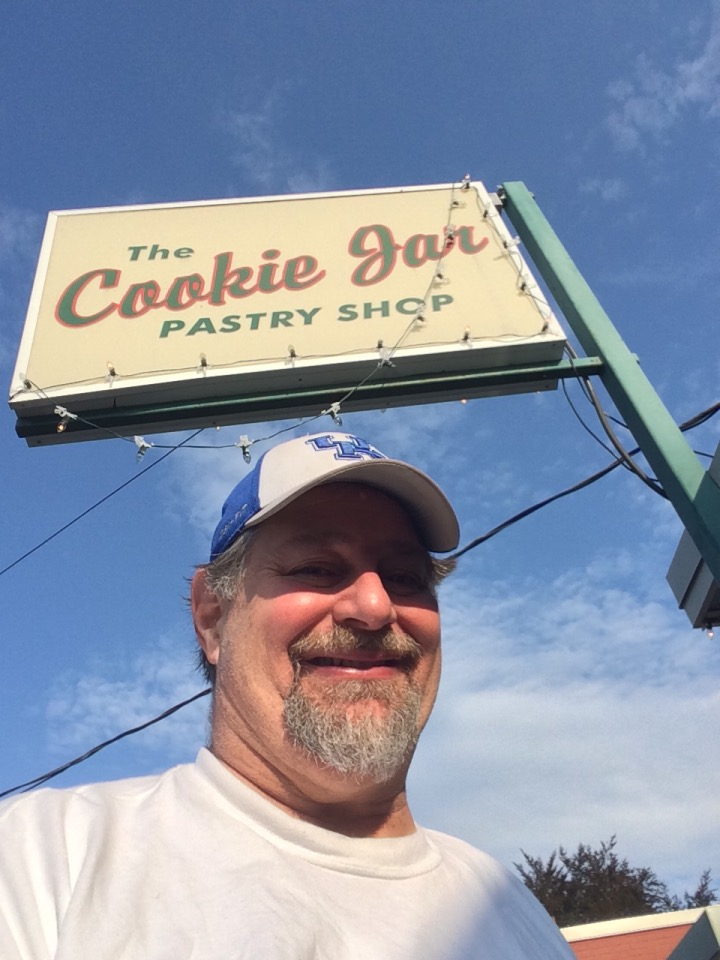 Stopping at the Cookie Jar in Port Elizabeth, ME
