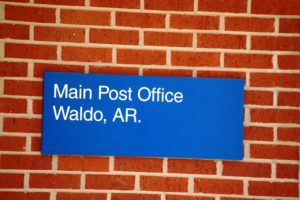 Waldo Post Office, Waldo, AR