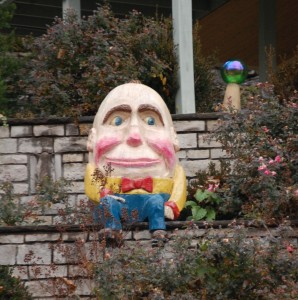 Looks like Humpty Dumpty is alive and well in Eureka Springs, Arkansas