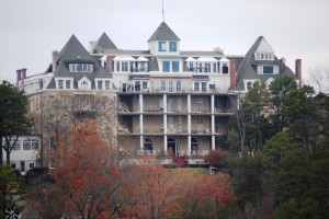 The Crescent Hotel, America's Most Haunted in Eureka Springs, Arkansas