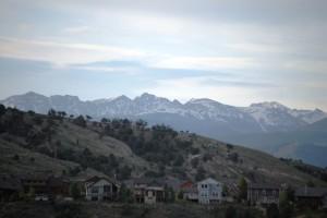 Mountain Scene from Eagle, Colorado