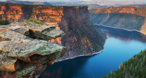 Flaming Gorge, near Vernal, UT (photo from utah.com)
