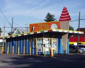 Old Ice Cream Shop in Hamtramck