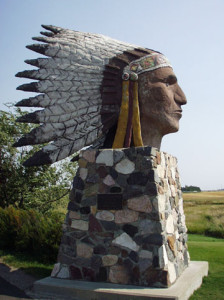 Indian Head Side View, Indian Head, SK, Canada