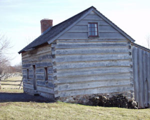 The home Joseph Smith lived in while in Palmyra