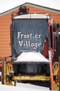 Frontier Village, an old-timey Western Village in Jamestown, ND