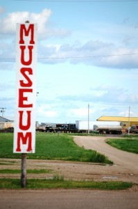 Museum sign in Kadoka, SD