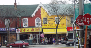 Store Fronts in Kensington