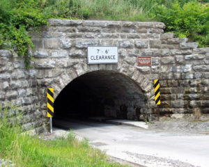 Culvert Road Tunnel under Erie Canal