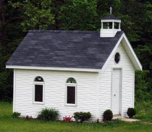 The Healing Chapel, Ohio's Smallest Church in Torch, Ohio