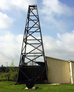 Replica of Oil Well in Oil Springs, Ontario