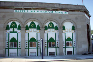 A Shop converted to a Mosque in Hamtramck, MI