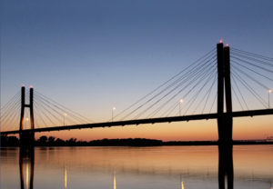 Bayview Bridge in Quincy, Illinois