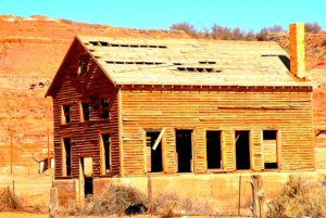 Old School from the 1950s in Tuba City. Been abandoned for years.