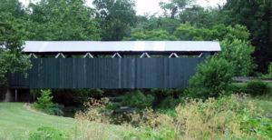 Ballard Road Covered Bridge built in 1883