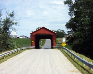 McColly Covered Bridge built in 1876
