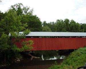 Stevenson Road Covered Bridge built in 1877