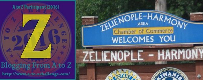 A to Z Challenge: The Z Towns #atozchallenge