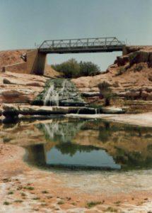 Creek through Tuba City, AZ