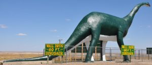 Giant 80 foot tall Wall Drug Dino