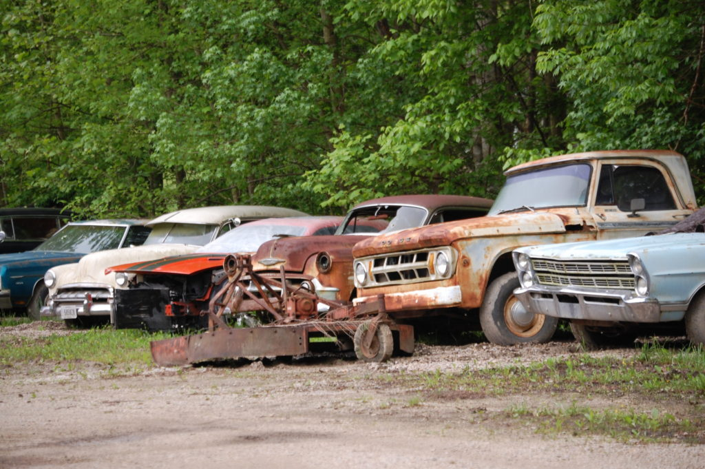 Old Cars in Hargett, KY