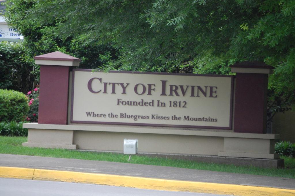 Welcome to Irvine, KY