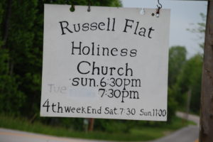 Russell Flat Holiness Church