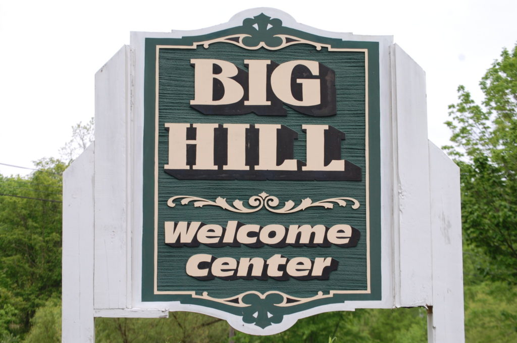 Welcome to Big Hill, KY