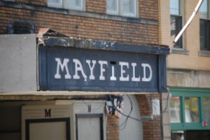 Old Mayfield Theatre, now closed