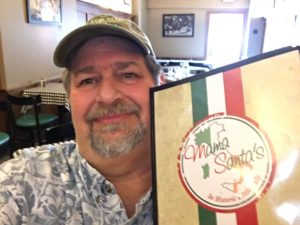 Mama Santa's has a full menu of mouth-watering delectable HOME MADE Italian food.