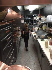 Busy in the TOLI Kitchen