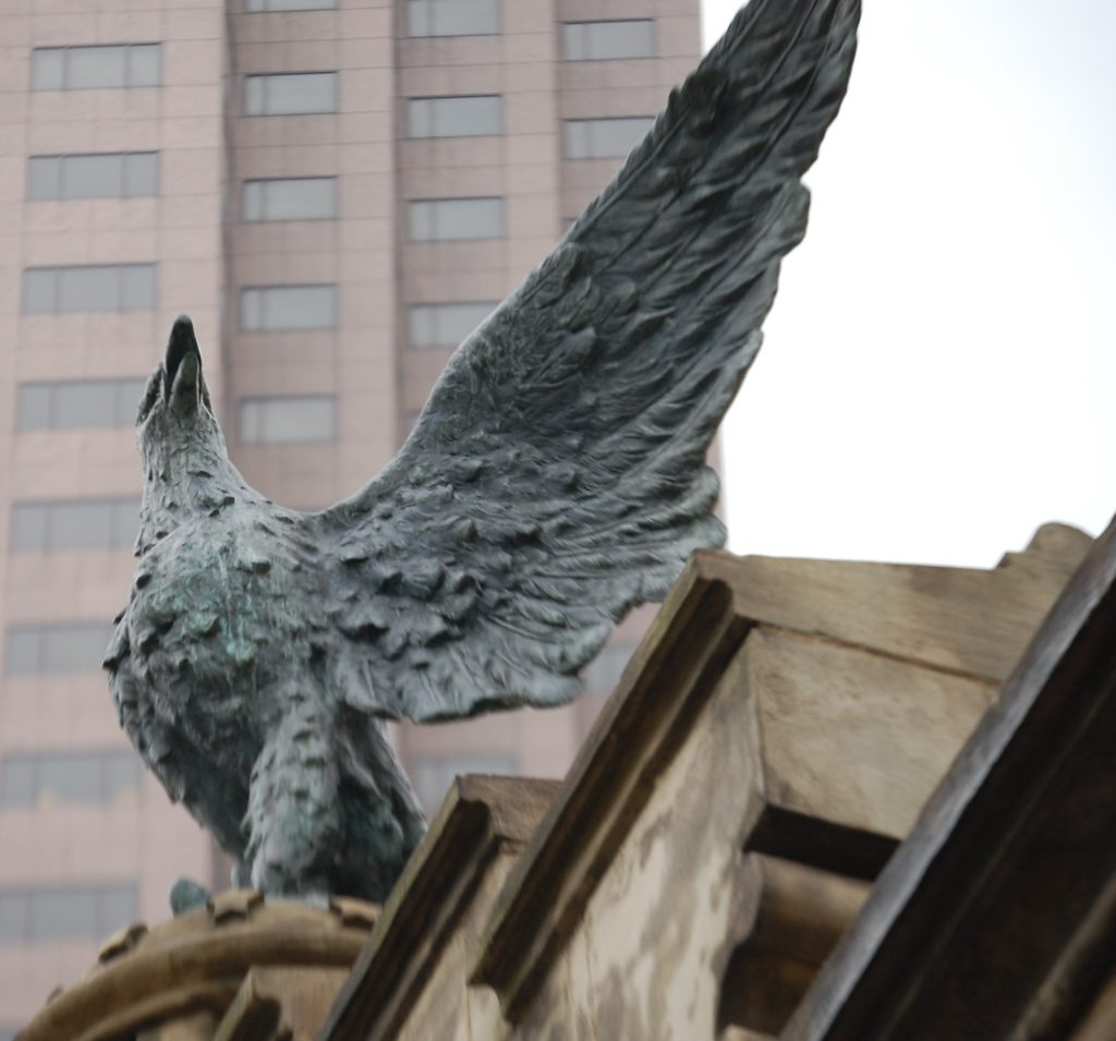 Eagle on the Monument