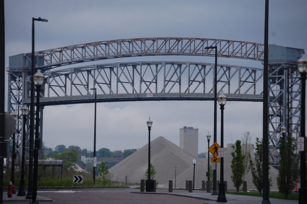 One of many Lift Bridges in Cleveland