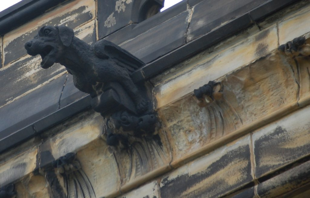 Gargoyles on Garfield Monument