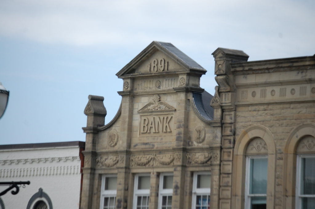 Old Bank in downtown Chagrin Falls