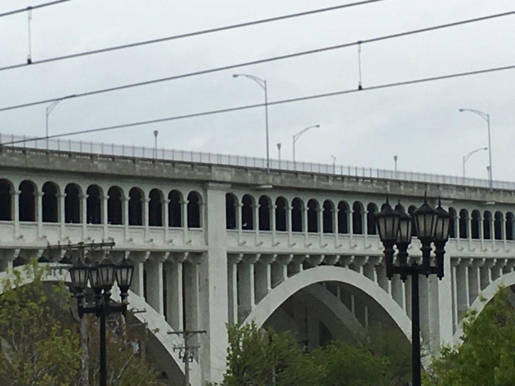 Arches of the Detroit-Superior Bridge