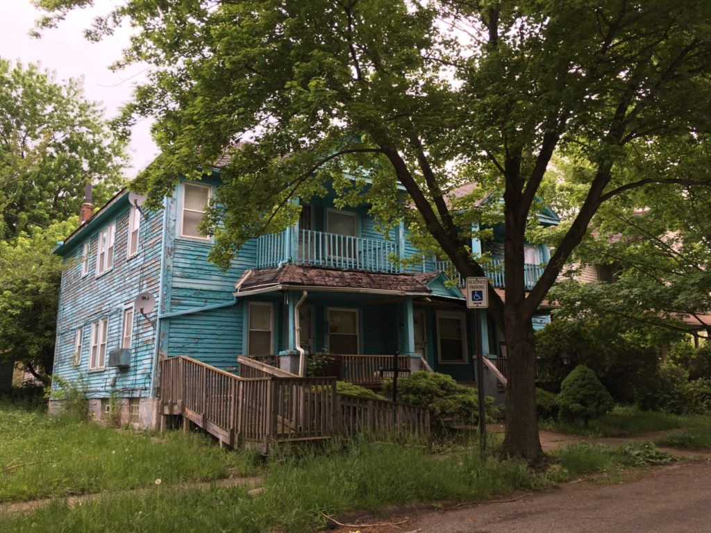 Sad state of housing in this aging part of Cleveland