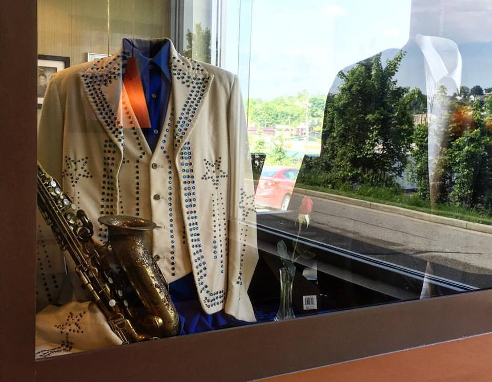 Bobby Vinton Stage items on display in Canonsburg McDonald's