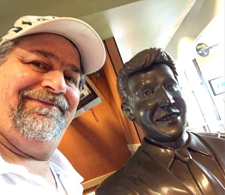 Bobby Vinton Statue in the Canonsburg McDonald's