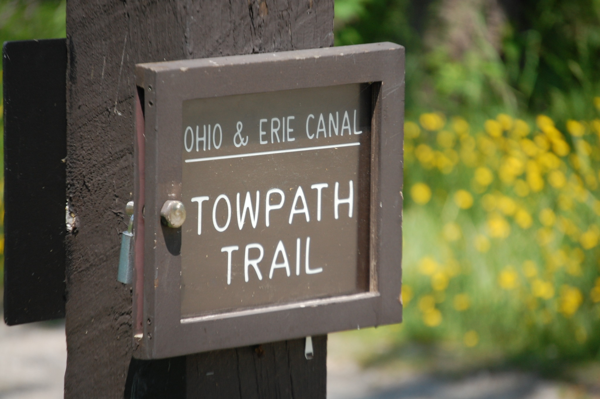 Bike Trails: Ohio Erie Towpath Trail, Cuyahoga Valley National Park, OH