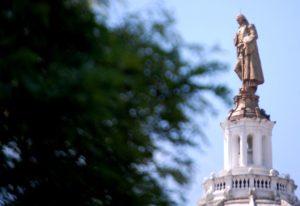 Washington Courthouse Statue
