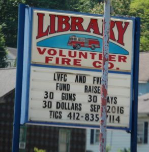 Library Volunteer Fire Co., South Park, PA