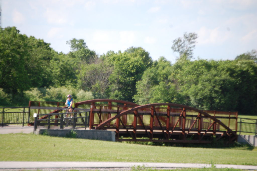 A bridge along the Legacy trail