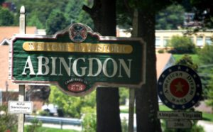 Welcome to Abingdon, VA