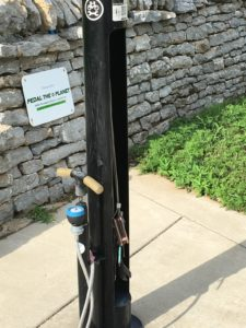 Bike Pump and Tools on the Legacy Trail