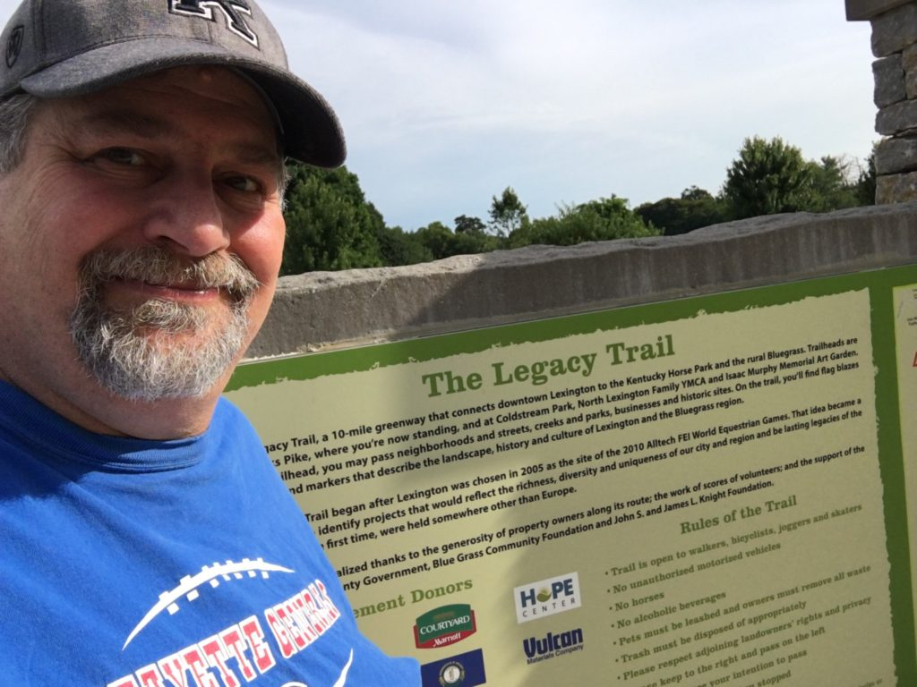 Sumoflam at Legacy Trail