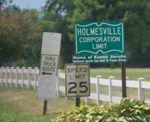 Welcome to Holmesville, OH