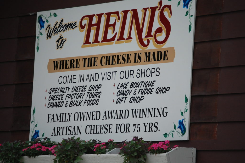 Welcome to Heini's - taken on a trip to Holmes County in 2011